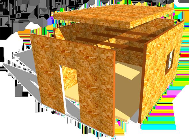 osb purpanel modul